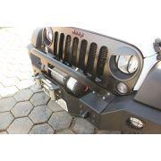 Conjunto de Para-Choques Dianteiro + Traseiro de Aço - Jeep Wrangler JK (2007-2016)