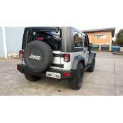 Para-Choque Traseiro de Aço - Jeep Wrangler JK (2007-2016)