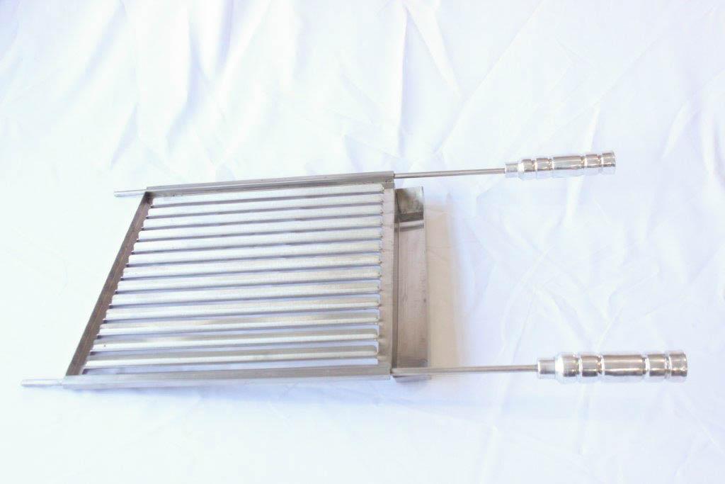 Grelha Argentina de Inox - 42cm x 51cm