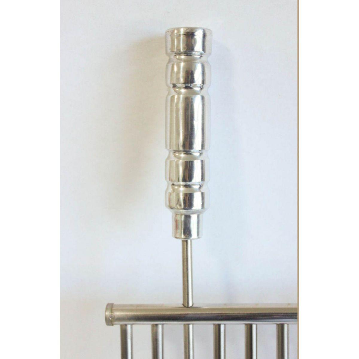 Grelha Tubular de Inox - 50cm x 50cm