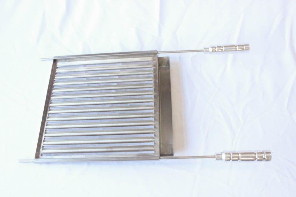 Grelha Argentina de Inox - 47cm x 51cm