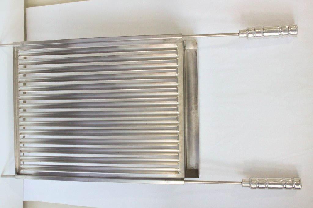 Grelha Argentina de Inox - 42cm x 46cm