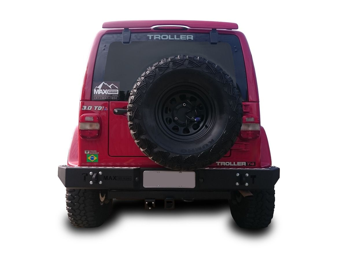 Para-choque Traseiro De Aço - Troller T4 (2003-2014)