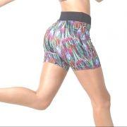 Bermuda Feminina Fitness Suplex Kit C/ 15 Shorts Top Atacado