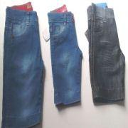 Bermuda Jeans Infantil Atacado Revenda Kit C/ 10 Shorts Top