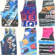 Bermuda Tactel Infantil Atacado Revenda Kit C/ 10 Shorts Top