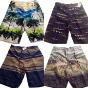 Bermuda Tactel Infantil Atacado Revenda Kit C/ 5 Shorts Top