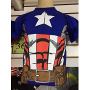 KIT C/ 5 CAMISETAS INFANTIL PERSONAGENS SUPER HEROIS