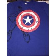Camiseta Infantil Personagens Super Herois Atacado Kit C/ 75