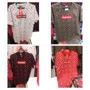 KIT 10 CAMISETAS MASCULINA SUPREME