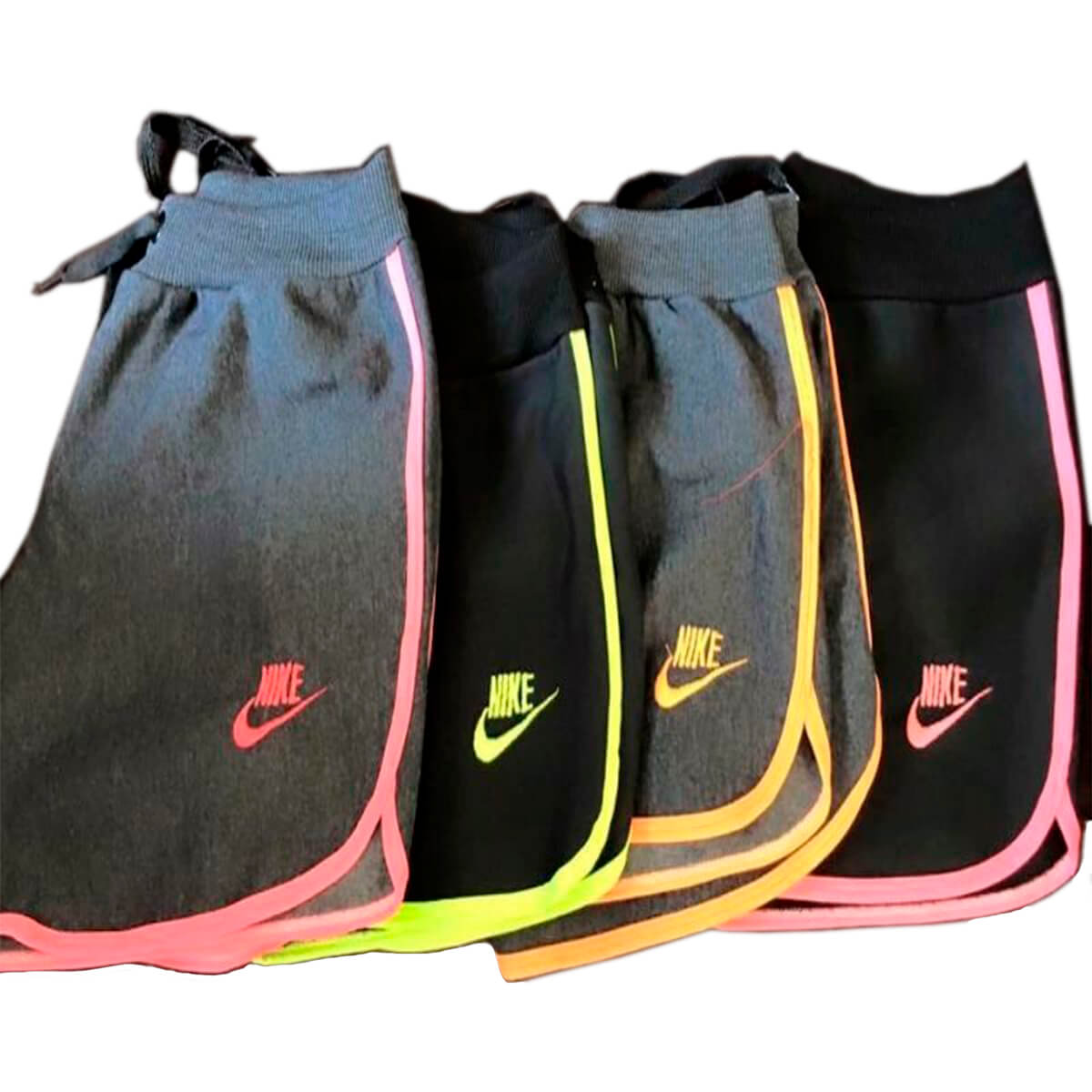 Kit 50 Shorts Moletom Feminino Nike Magazinshop Roupas
