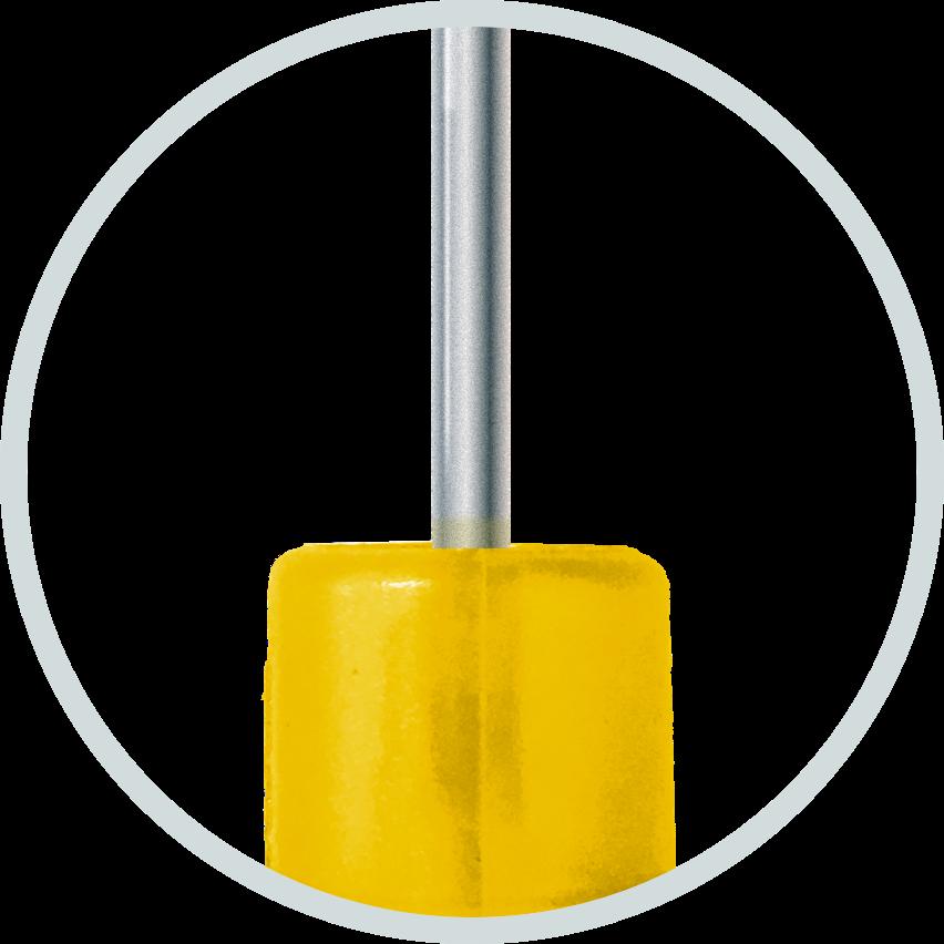 Aplicador de microchip 2x12mm agulhado reutilizável