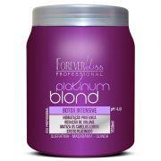 Forever Liss Platinum Blond Btox Intensive Matizador - 1kg