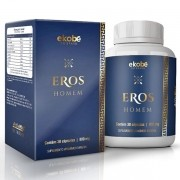 Eros Homem | Original | Estimulante Sexual Masculino | 01 Pote
