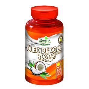 Óleo de Coco - 1000mg - 120 cápsulas gelatinosas  - LA Nature