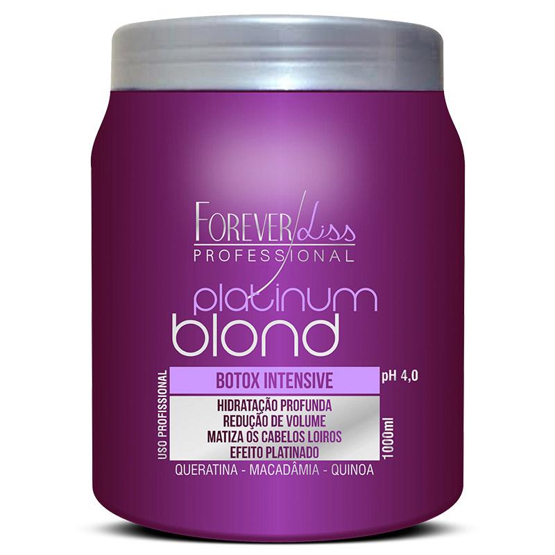 Forever Liss Platinum Blond Btox Intensive Matizador - 1kg  - LA Nature