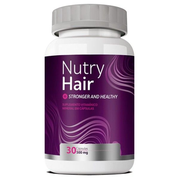 Nutry Hair - 500mg - 30 cápsulas