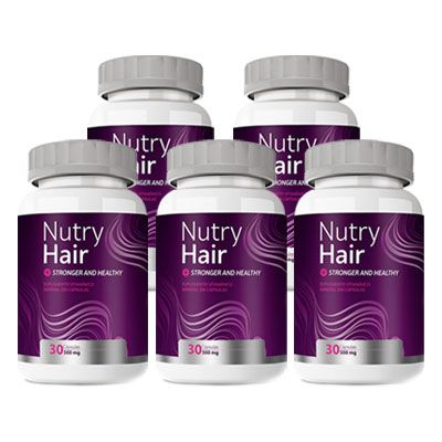 Nutry Hair - 500mg - Compre 3, Leve 5  - LA Nature
