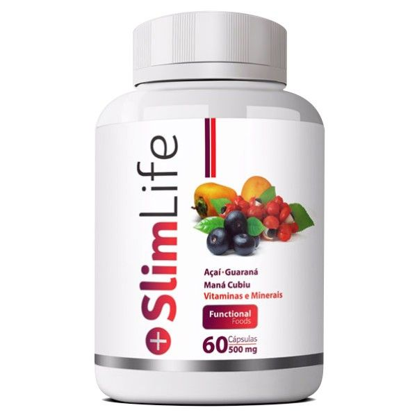 Slim Life - Emagrecedor - Original|500mg - 01 Pote  - LA Nature