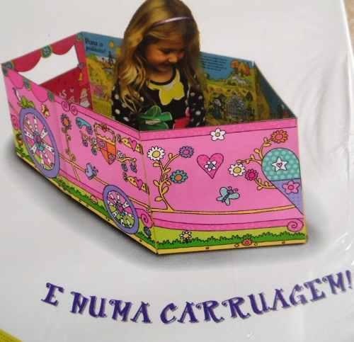 Livro - Conversíveis - Carruagem de Princesa - Girassol