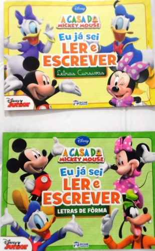 Kit Caligrafia - Disney - A Casa Do Mickey Mouse