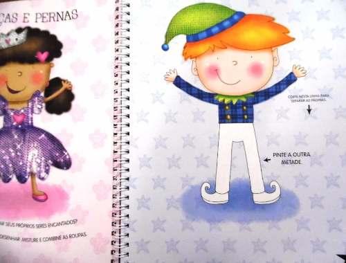 Meu Livro De Atividades - Fadas - Livros Infantis