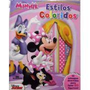 Minnie Estilos Coloridos - Crie Figurinos Com A Minnie