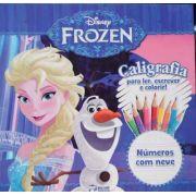 Disney Frozen - Caligrafia - Números com Neve