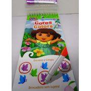 Dora Aventureira - Cores - Escreve E Limpa