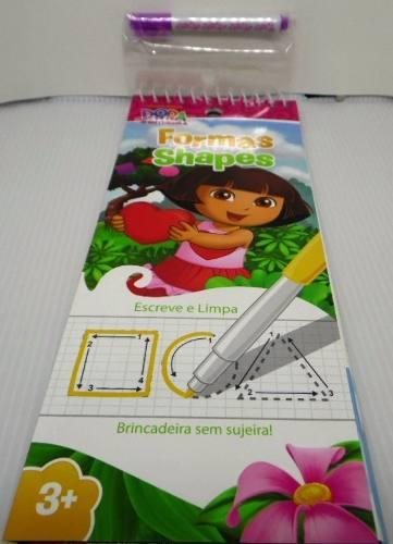 Dora Aventureira - Formas - Escreve E Limpa