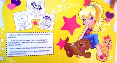 Livro Infantil - Polly: Fim De Semana Divertido