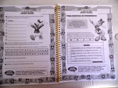 Mundo Mágico Das Letras - Disney