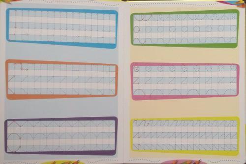Livro Escreva e Apague Coordenação Motora - Pre-escrita