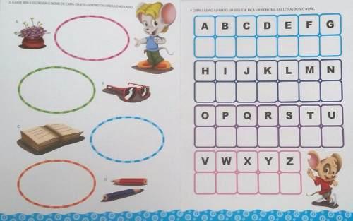 Livro Escreva e Apague Alfabeto e Atividades