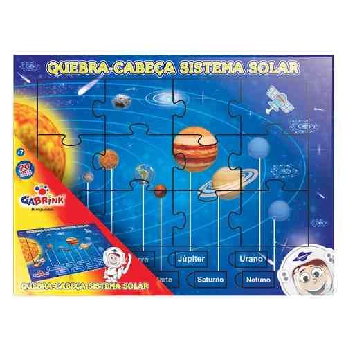 Quebra-cabeça Sistema Solar
