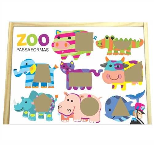 Zoo Caixinha Passa Formas