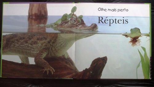 Livro Repteis: Veja Os Repteis De Perto