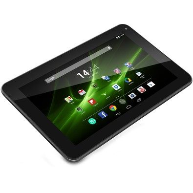 Tablet Multilaser M9 com Android 4.4 Quad Core 4x 1.2GHz Câmera 0.3 MP 8GB ,1GB RAM NB172 Preto Outlet