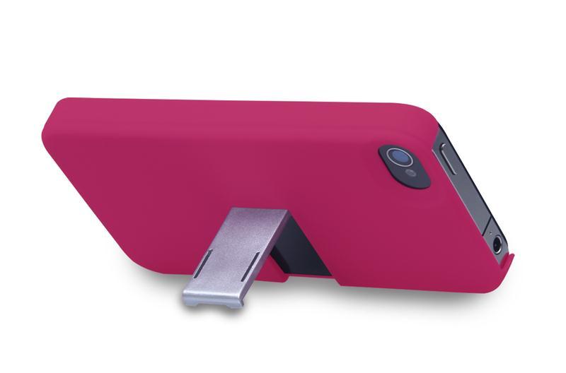 Capa E Suporte Multilaser Para Iphone 5 Rosa E Prata - Bo329