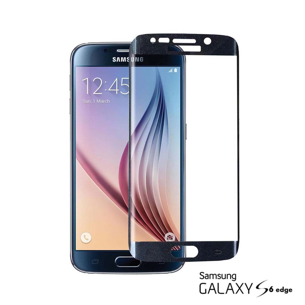 Pelicula de Vidro Samsung S6 Edge Preta