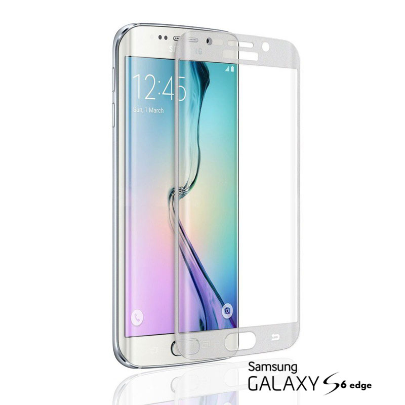 Pelicula de Vidro Samsung S6 Edge Branca