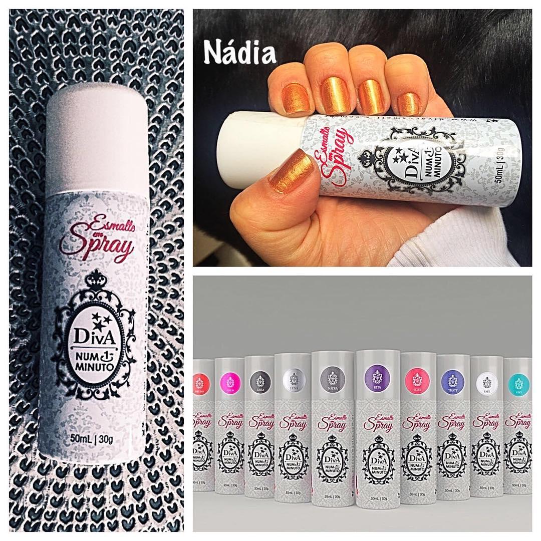Esmalte Spray Diva Nadia 50ml/30g