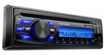 Som Automotivo Freedom Cd E Mp3 Player Multilaser-P3239