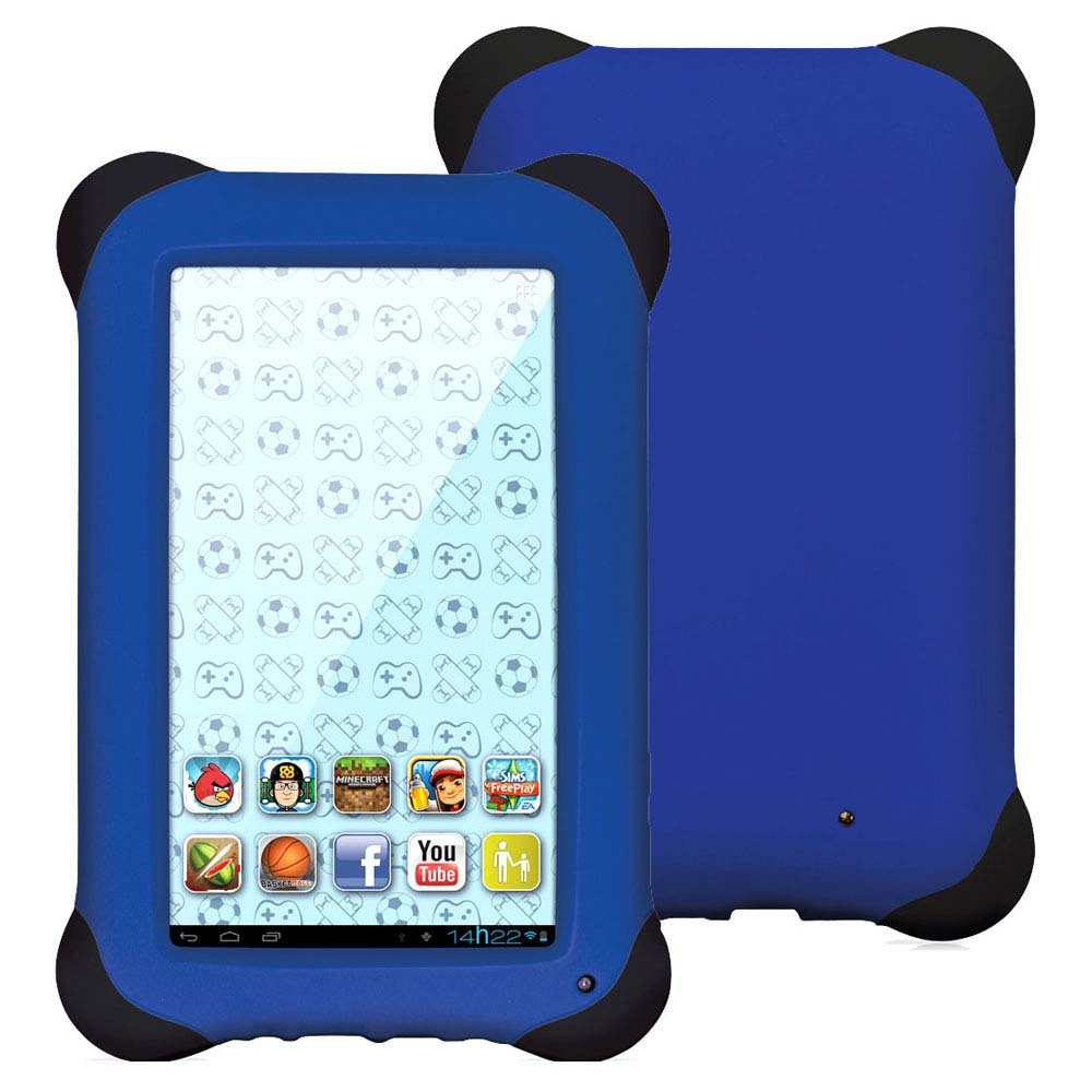 "Tablet Multilaser Kid Pad NB 194 Quad Core 8GB Tela 7"" Android 4.4 - Azul"