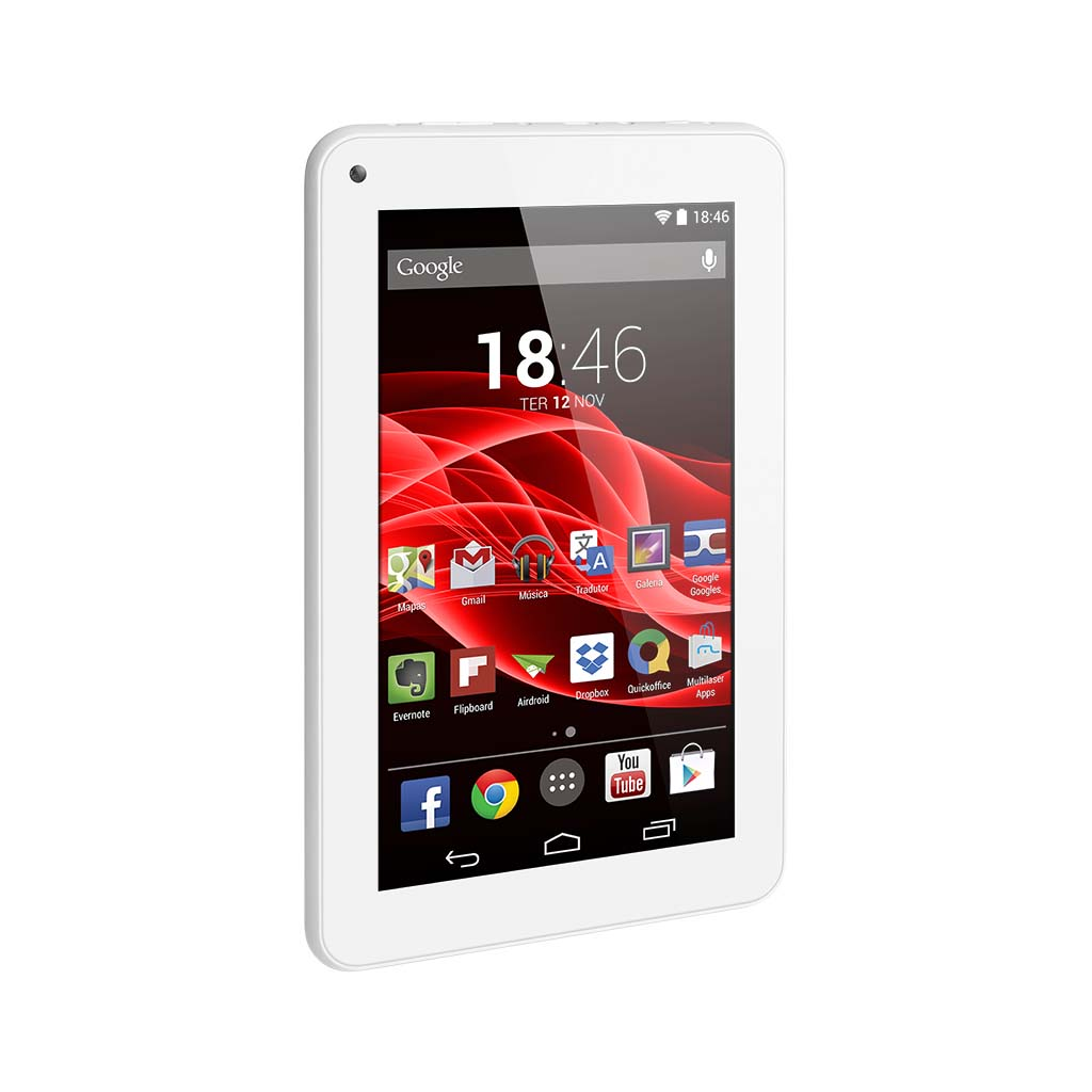 Tablet 7 Android 4.4 Quad Core - Multilaser Nb200