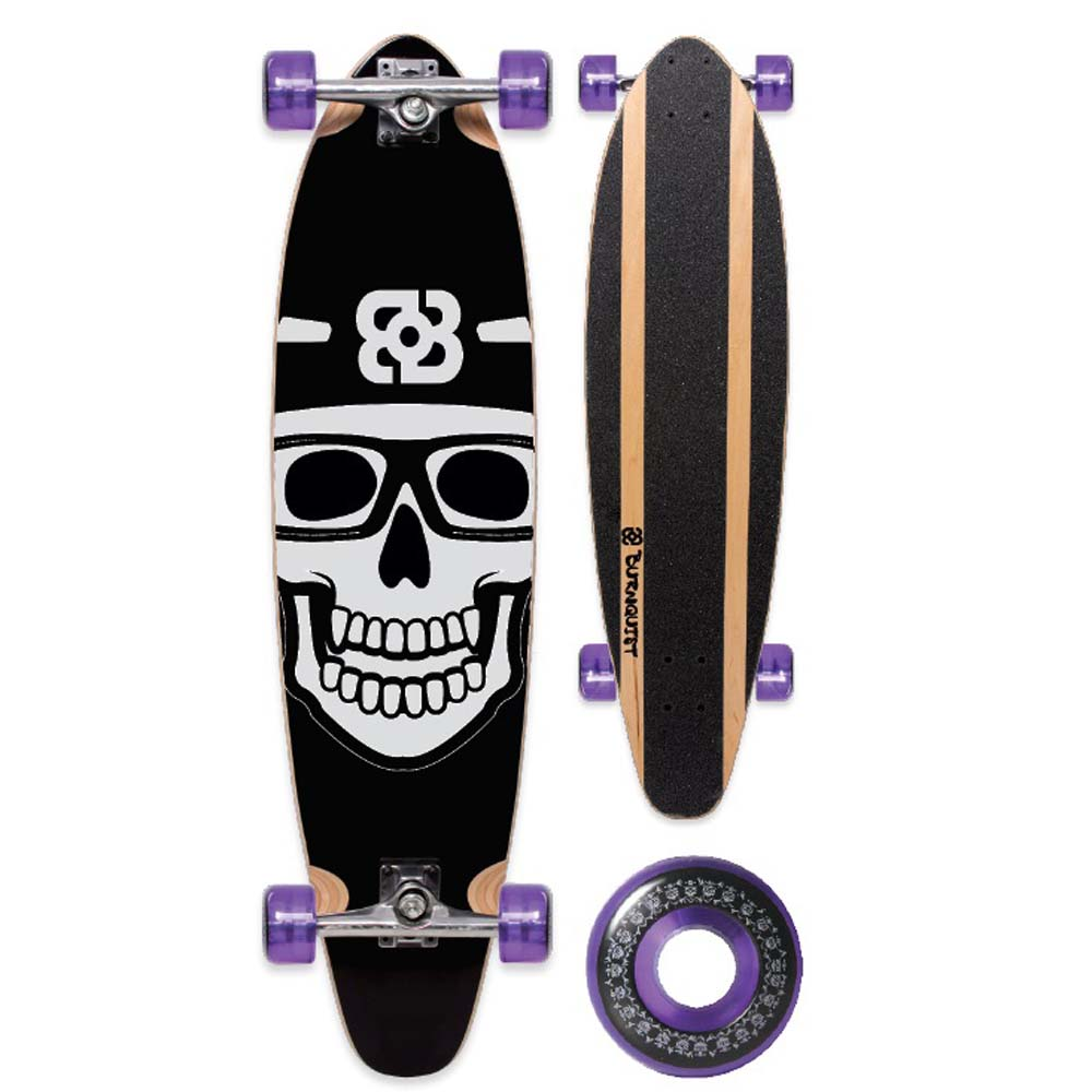Skate Longboard Bob Burnquist ES001 Multilaser - Preto