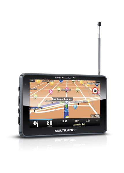 Navegador Gps Multilaser Tracker III Tela 5.0