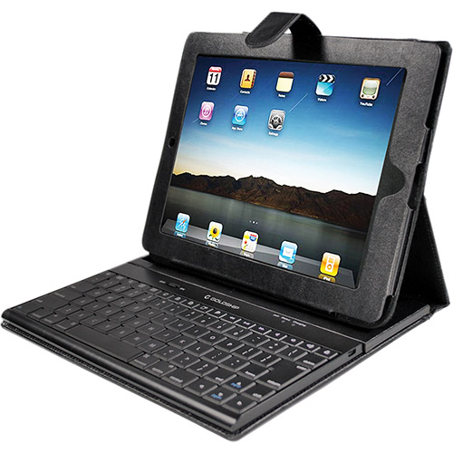 Teclado Wireless Bluetooth Para Ipad E Ipad 2 Com Case Leadership