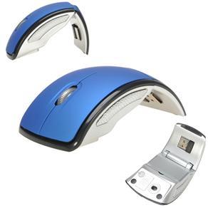 Mouse Dobravel Sem Fio 1000 Dpi Azul