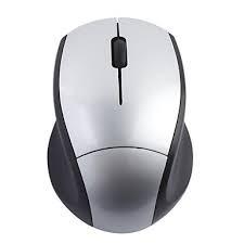 Mini Mouse 2.4 Ghz 10m sem fio Cinza